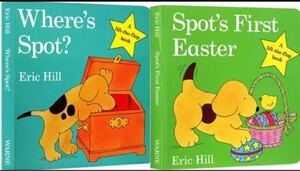 しかけ絵本 where's spot + Spot's First Easter