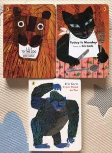 エリック・カール Today is Mondayなど Animal Collection 3冊