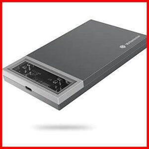 Yottamaster 2.5インチ SSD/HDDケース USB3.1 GEN-1 Type-C 外付けハードディスクケース SATA接続 9.5mm/7mm厚両対応 UASP対応