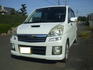 """selling out!H19 year 11 month registration Subaru Stella custom RS(RN1) vehicle inspection """"shaken"""" . peace 3 year 11 month 23 until the day radiator exchange necessary"""