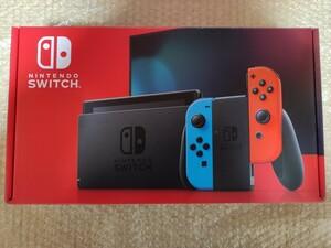 Nintendo Switch 任天堂スイッチ 極美品 使用わずか ネオンブルー ネオンレッド