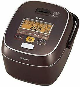 ブラウン 1升(5人以上) 象印 炊飯器 圧力IH式 鉄器コートプラチナ厚釜 極め炊き 1升 ブラウン NW-JA18-TA