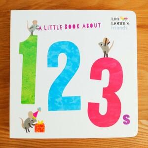【新品】レオ・レオニ 英語絵本 123ボードブック