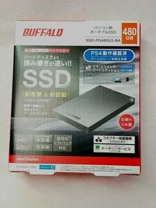BUFFALO SSD-PG480U3-BA PS4対応
