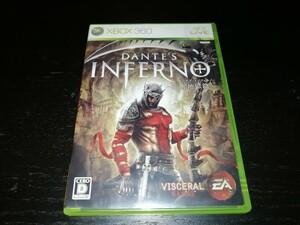 【動作確認済】Xbox360ソフト ダンテズ・インフェルノ~神曲 地獄篇~