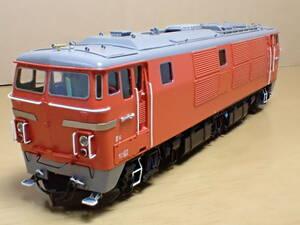 1/80 16.5mmゲージ ムサシノモデル 国鉄 ディーゼル機関車 DD54 5次型 難あり