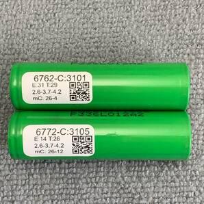 AquaPC★送料無料 DIYリサイクルセル大容量 LG製 INR18650型 リチウムイオン電池 3100mAh 2本★