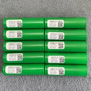 AquaPC★送料無料 DIYリサイクルセル大容量 LG製 INR18650型 リチウムイオン電池 2900mAh 10本★