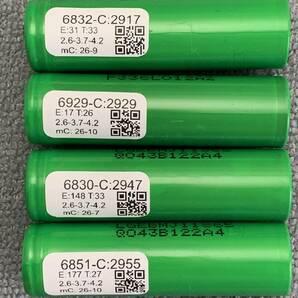 AquaPC★送料無料 DIYリサイクルセル大容量 LG製 INR18650型 リチウムイオン電池 2900mAh 4本★