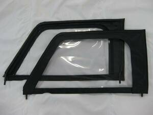 * knee SJ30FK original half door for canopy window [ canopy window re-covering ]JT-MBK left right set [ private person sama addressed to delivery un- possible :( stop in business office excepting )]