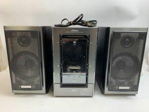 中古 ジャンク VIctor NX-MD1 コンパクトコンポーネント MDシステム(CD/MDコンポ)オーディオ スピーカーシステム 10-10