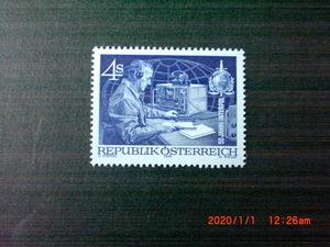 インターポール50年記念ー警察無線士 1種完 未使用 1973年 オーストリア共和国 VF/NH