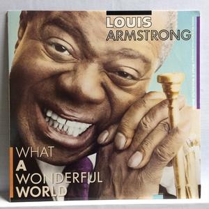 洗浄済 LP US盤 LOUIS ARMSTRONG ルイ・アームストロング WHAT A WONDERFUL WORLD MCA-25204 ICR