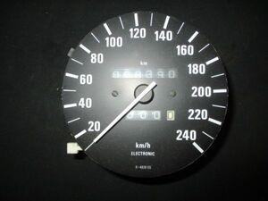 ■BMW E30 325 スピードメーター 中古 1377343 MOTOMETER 5440122800 部品取あり インストゥルメントパネル クラスター ■