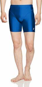 新品ブルー O [アシックス] トレーニングウエア ミドルタイツ XA3401 メンズF498