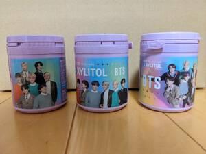 ◇ロッテ キシルトール ボトルガム BTS 全員バージョン 3種セット