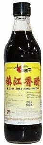 ロウバ 鎮江香酢 (中国黒酢) 500ml 中国香酢 オリジナルステッカー付