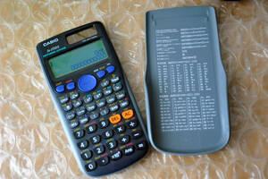 ケース付き良品★CASIO カシオ FX-375ES 関数電卓  ★動作確認済み