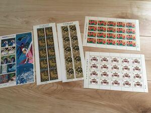 全てシート切手です。9640円分