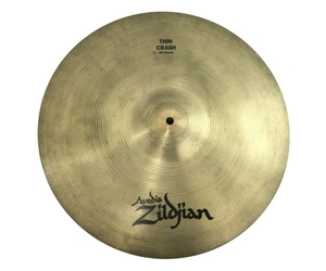 A ZILDJIAN THIN CRASH 18/45cm クラッシュ シンバル ドラム 打楽器 中古 N5935920