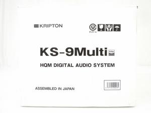KRIOTON KS-9Multi HQM DIGITAL AUDIO SYSTEM 小型 ハイレゾ スピーカー 音響機材 オーディオ クリプトン 未使用 O5930552