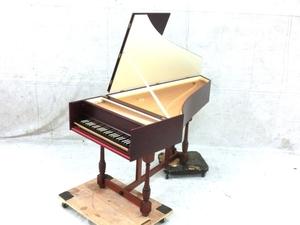 【引取限定】東京古典楽器センター GH-180 フレンミッシュ1段チェンバロ アンドレアス・ルッカーズ 1640年制作モデル 楽器 直 M5926518