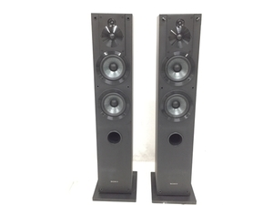 【引取限定】SONY SS-CS3 3Way スピーカーシステム ペア 音響機器 オーディオ ジャンク 直 H5752208