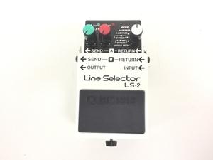 BOSS Line Selector LS-2 ラインセレクター 音響 オーディオ 中古 K5984450
