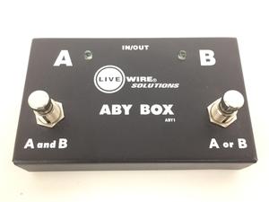 ABY BOX ABY1 エフェクター ギターフットスイッチ 音響 オーディオ ジャンク K5982142