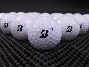 [J1A-05B] BRIDGESTONE TOUR B XS Bマーク 2020年モデル ホワイト 30球 ブリヂストン ロストボール