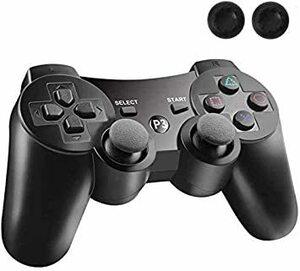 PS3 コントローラー PS3 ワイヤレスコントローラー Bluetooth ワイヤレス ゲームパッド USB ケーブル 振動機