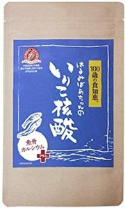 【 無添加 小魚 カルシウム マグネシウム サプリ 】管理栄養士監修 化学添加物一切不使用 はるみばあちゃんのいりこ核酸 1袋1