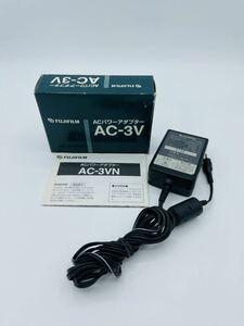 【並品K2331】FUJIFILM 純正 ACパワーアダプター AC-3V ACアダプタ 動作確認済 元箱