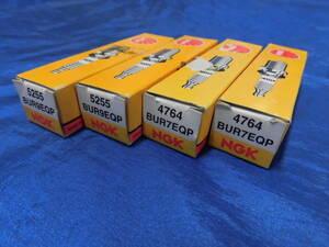 *RX-7 unused NGK plug set BUR9EQP×2 BUR7EQP×2 FD3S rotary free shipping *