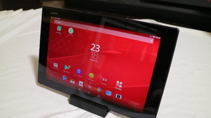 au Xperia Z2 Tablet SOT21(充電クレードル付き、非純正)