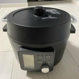 電気圧力鍋 アイリスオーヤマ 4.0L PMPC-MA4-B 自動メニュー90種類搭載 電気鍋