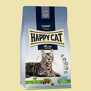 未使用 新品 CAT HAPPY 1-8H ドライ (300g) (ハッピ-キャット) ファ-ム ラム (牧畜のラム) - 消化器ケア 全猫種 成猫 pHコントロ-ル