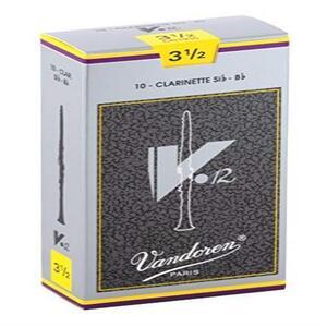 【期間限定】 バンドーレン B♭クラリネットリード V.12 硬さ:3-1/2 (10枚入り) YEFS