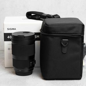 Sigma 40mm F1.4 DG HSM for Canon EF