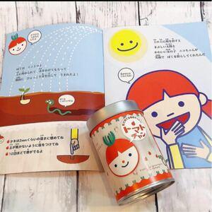 子供と育てる ミニトマト 栽培セット 絵本つき