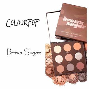 Colourpop ★ Brown sugar アイシャドウパレット カラーポップ カラポ