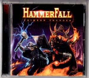 Used CD 輸入盤 ハンマーフォール HammerFall『クリムゾン・サンダー』- Crimson Thunder (2002年)全12曲アメリカ盤