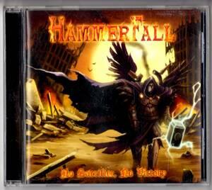 Used CD 輸入盤 ハンマーフォール HammerFall『ノー・サクリファイス,ノー・ヴィクトリー』- No Sacrifice, No Victory(2009年)全11曲米盤