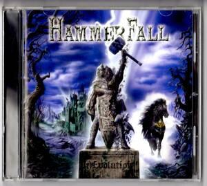 Used CD 輸入盤 ハンマーフォール HammerFall『レヴォリューション』 - (r)Evolution(2014年)全12曲アメリカ盤