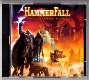 Used CD 輸入盤 ハンマーフォール HammerFall『ワン・クリムゾン・ナイト』 - One Crimson Night(2004年)2枚組全22曲アメリカ盤