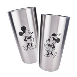 ステンレスタンブラーペアセット ディズニー ミッキーマウス&ミニーマウス 440ml 箱付き新品 Disney ミッキー&ミニー