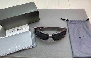 【美品】NIKE ナイキ サングラス アジアンフィットNix AF EV 0294 048スポーツ用サングラス メンズサングラス