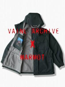 週末セール 新品未使用 タグつき VAINL ARCHIVE Marmot gore tex ジャケット