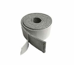 グレー 【XX-UV】床のキズ防止テープ 家具保護パッド 防音 自由にカットして 粘着付き 幅5cm 長200cm 厚さ4mm
