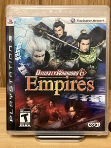 【PS3ゲームソフト】Dynasty Warriors 6 Empires【中古】